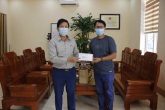 Công ty TNHH MTV Chua Me Đất (Oxalis) trao tặng bộ test nhanh Covid-19 cho BQL VQG Phong Nha – Kẻ Bàng